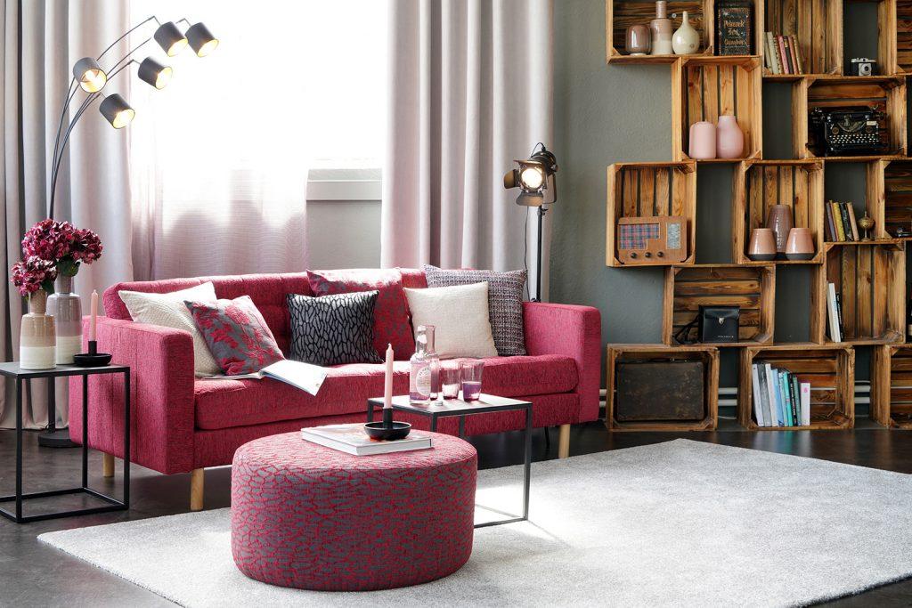 Kissen, Tischdecken und Vorhänge in großer Auswahl